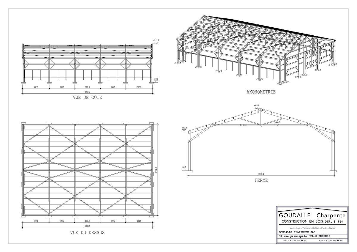 agriculture elevage goudalle charpente. Black Bedroom Furniture Sets. Home Design Ideas